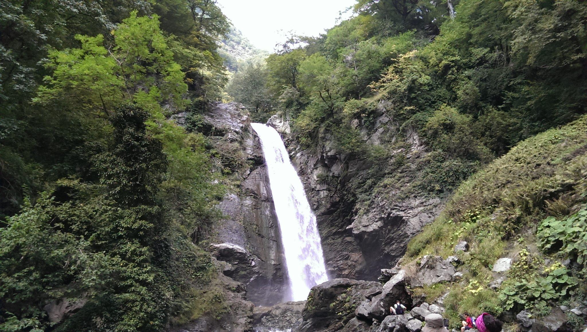 Wodospad w Gruzji
