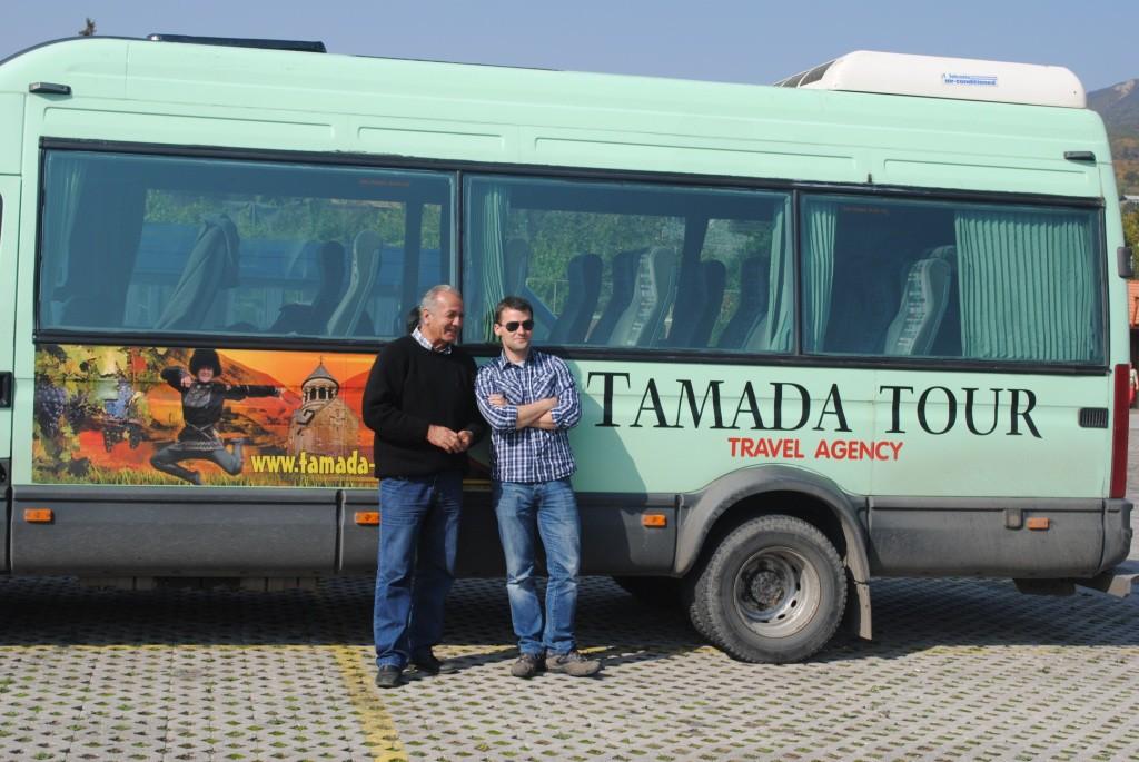 nasz bus wycieczkowy tamada tour
