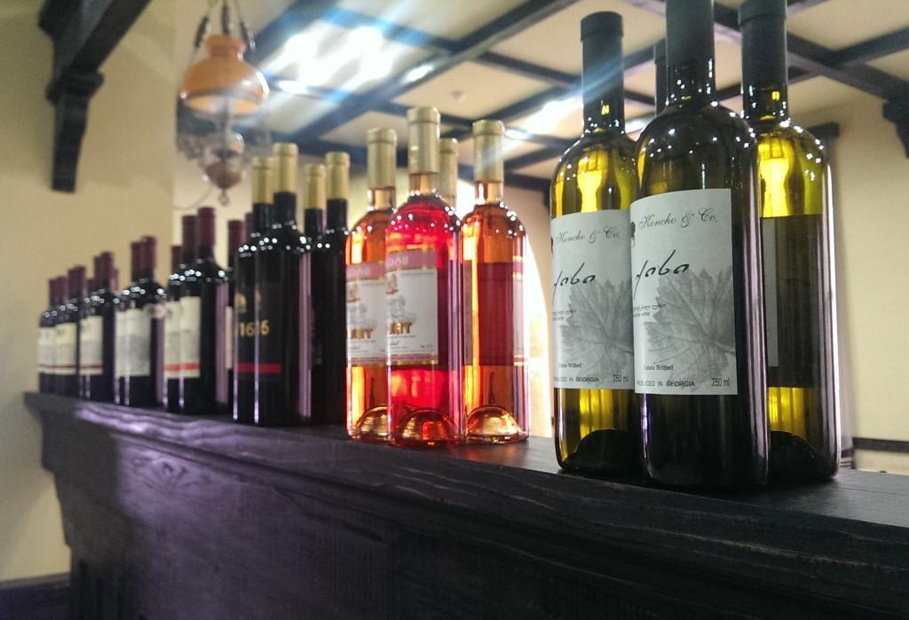 wina gruzińskie