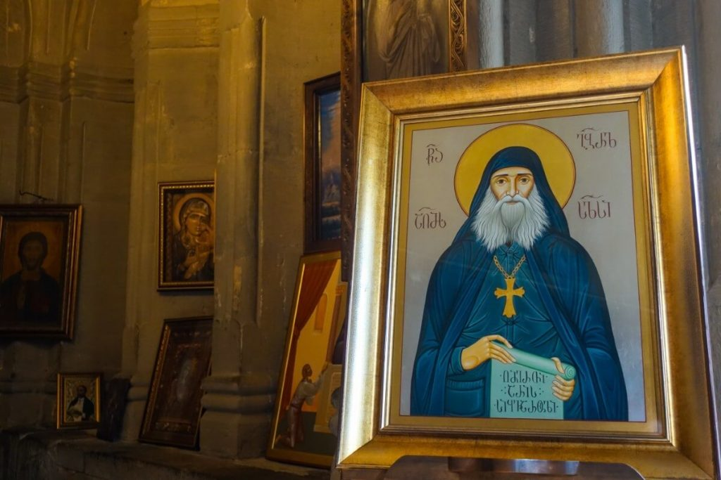 Swiety Gabriel klasztor cerkiew Samtawro Gruzja Mccheta
