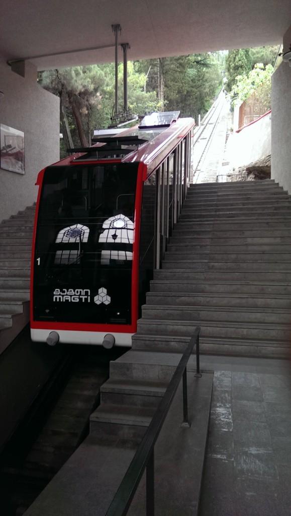 kolejka maszynowa w tbilisi