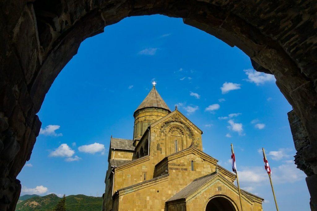 Mccheta katedra Sweticchoweli wejscie