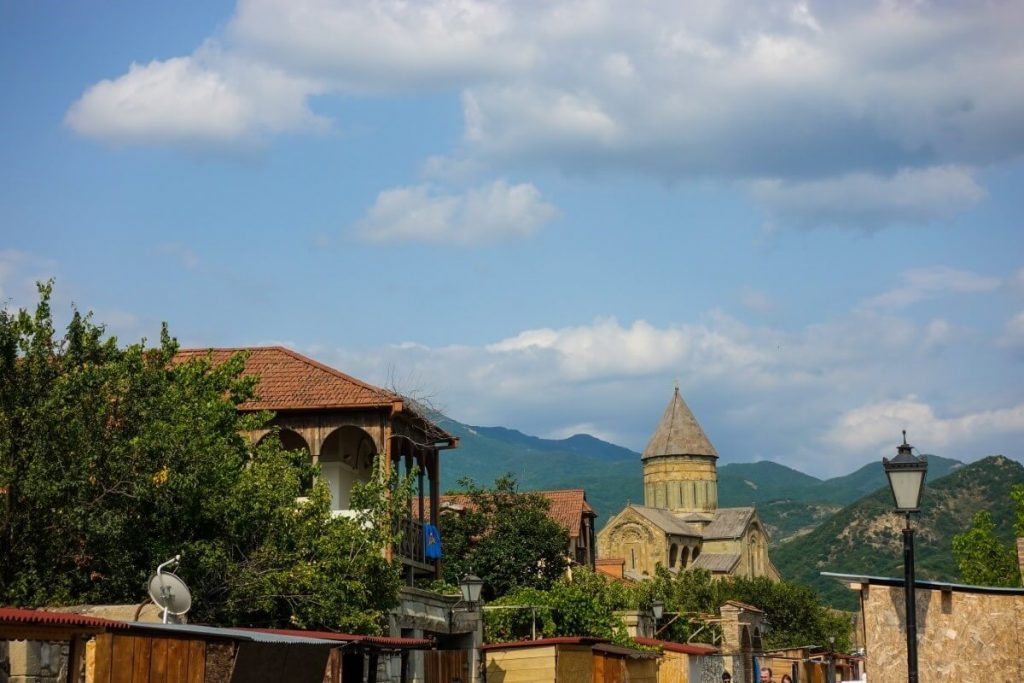 Mccheta miasto Gruzja Kaukaz zabytki w Gruzji