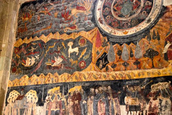 freski w katedrze