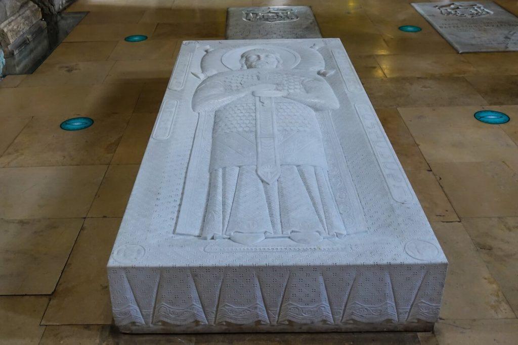 Wachtang Gorgasali wladca Gruzji katedra Sweticchoweli