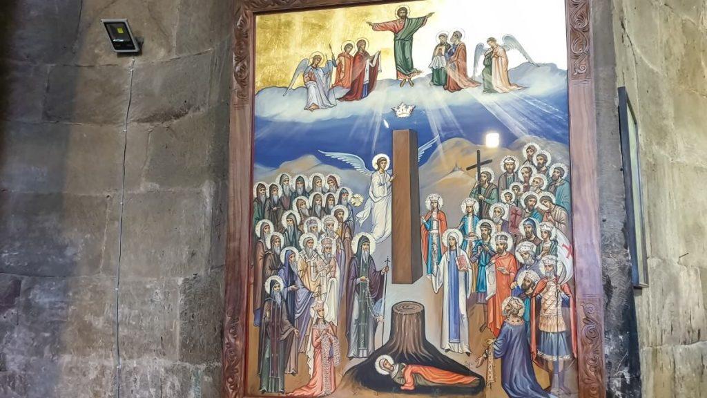 Zwiedzanie cerkwi Dzwari w Gruzji Monastyr Krzyza