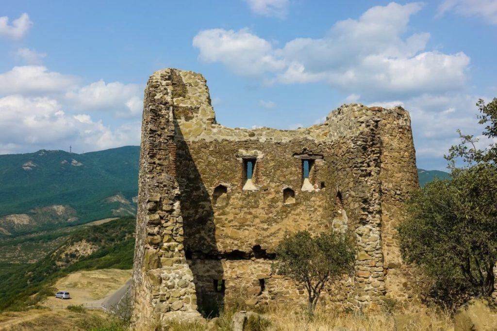 Mur obronny cerkwi Dzwari Monastyr Krzyza Gruzja