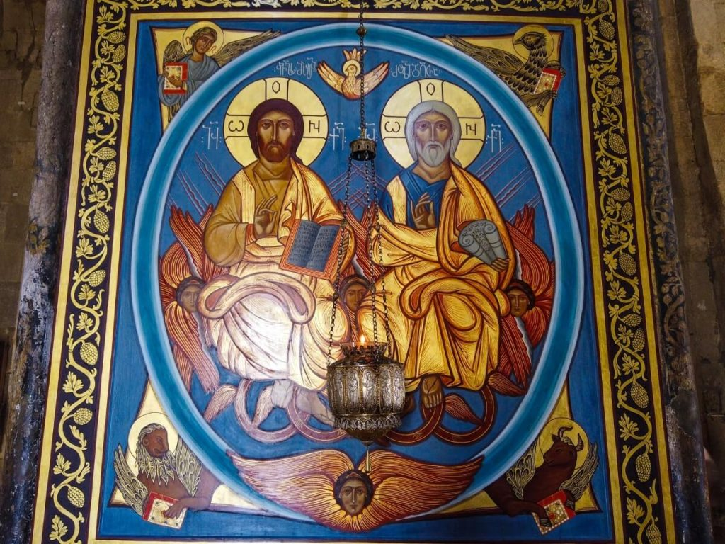 Sakralne malarstwo Gruzja katedra Sweticchoweli