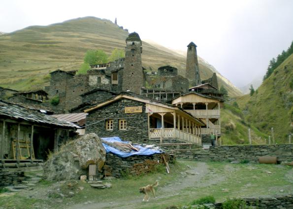 Zwiedzanie Tuszetii