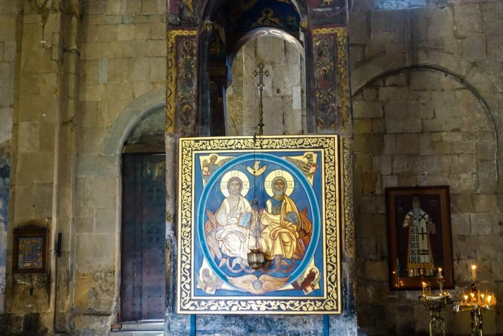 Grob Sydonii szata Chrystusa katedra Sweticchoweli Gruzja