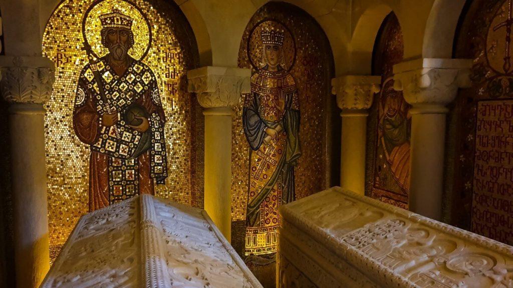 groby wladcow Mirian Nana chrzescijanstwo Gruzja