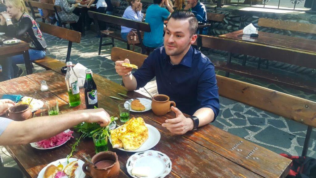Salobie restauracja Gruzja PolakoGruzin
