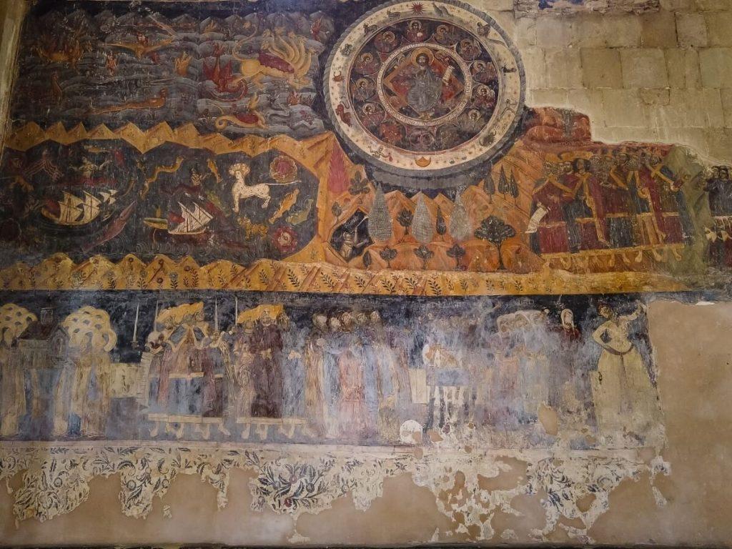 freski znaki zodiaku katedra Sweticchoweli Mccheta