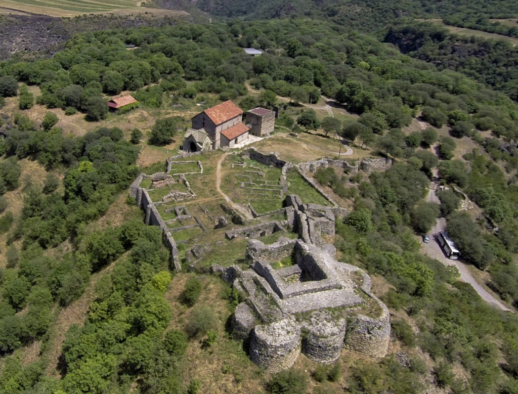 ruiny wioski Dmanisi