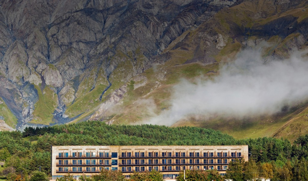 hotel kazbegi - Gdzie spać w Kazbegi (Stepancminda)