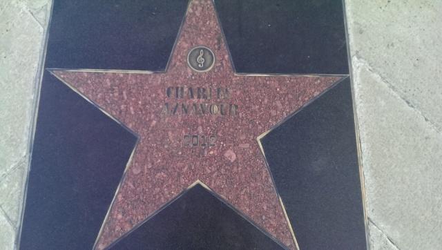 gwiazda na dziedzińcu w Rabati