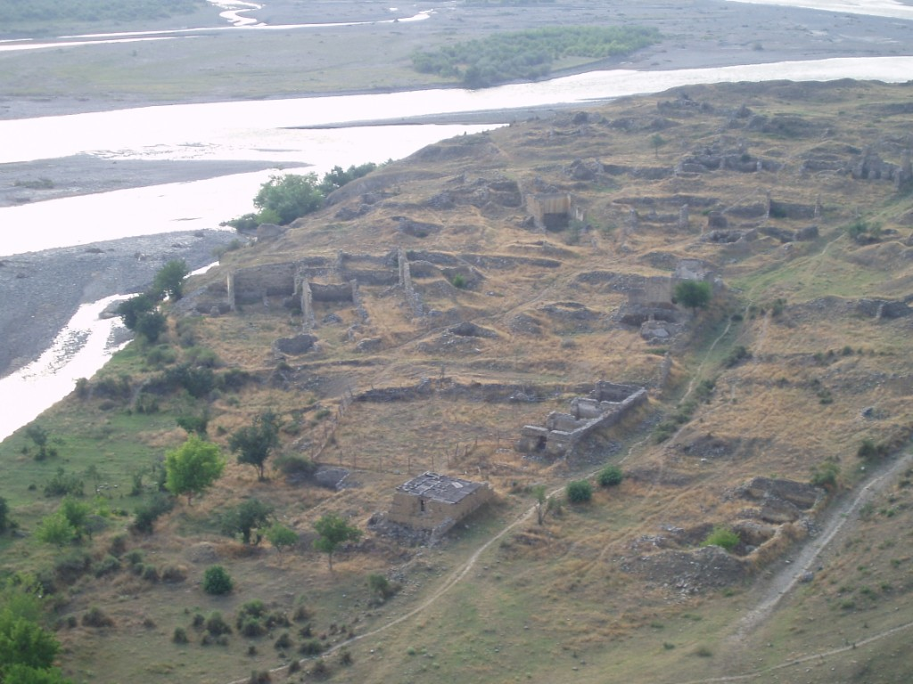 ruiny wsi Uplisciche