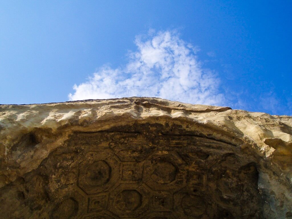 Uplisciche najstarsze miasto skalne w Gruzji piękne sztukaterie teatr