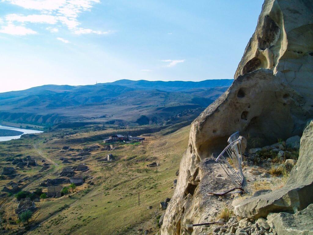 Uplisciche skalne miasto Gruzja