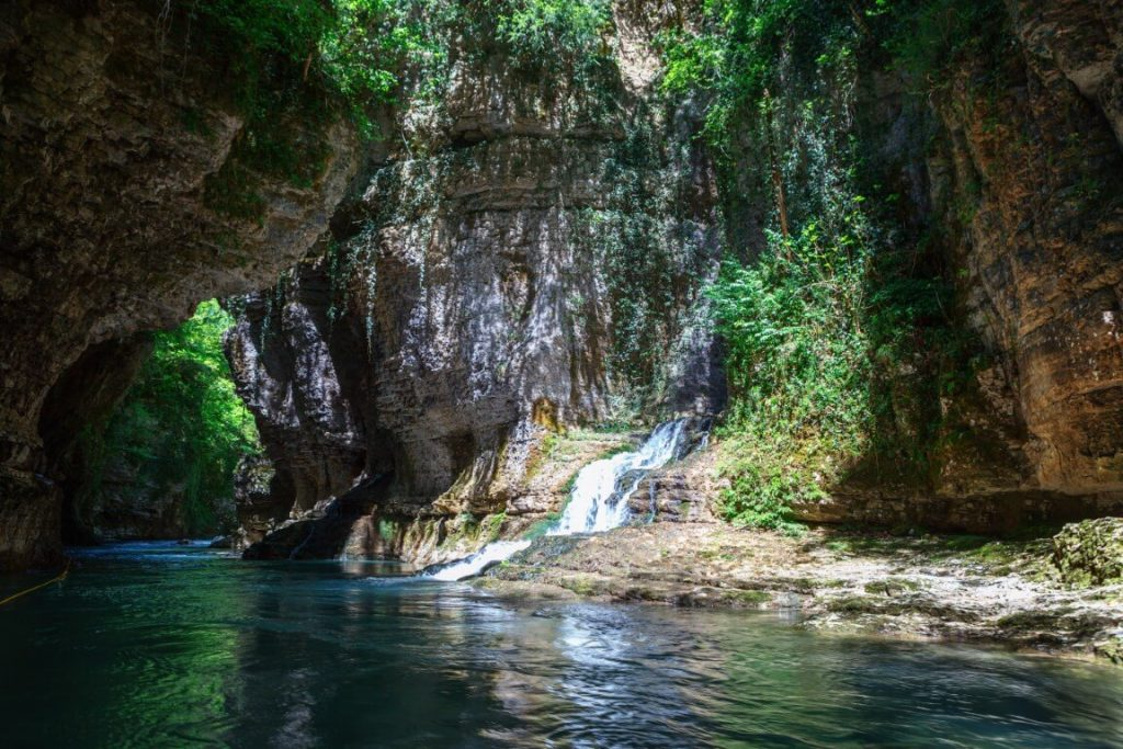 kanion rafting gruzja martvili samegrelo megrelia