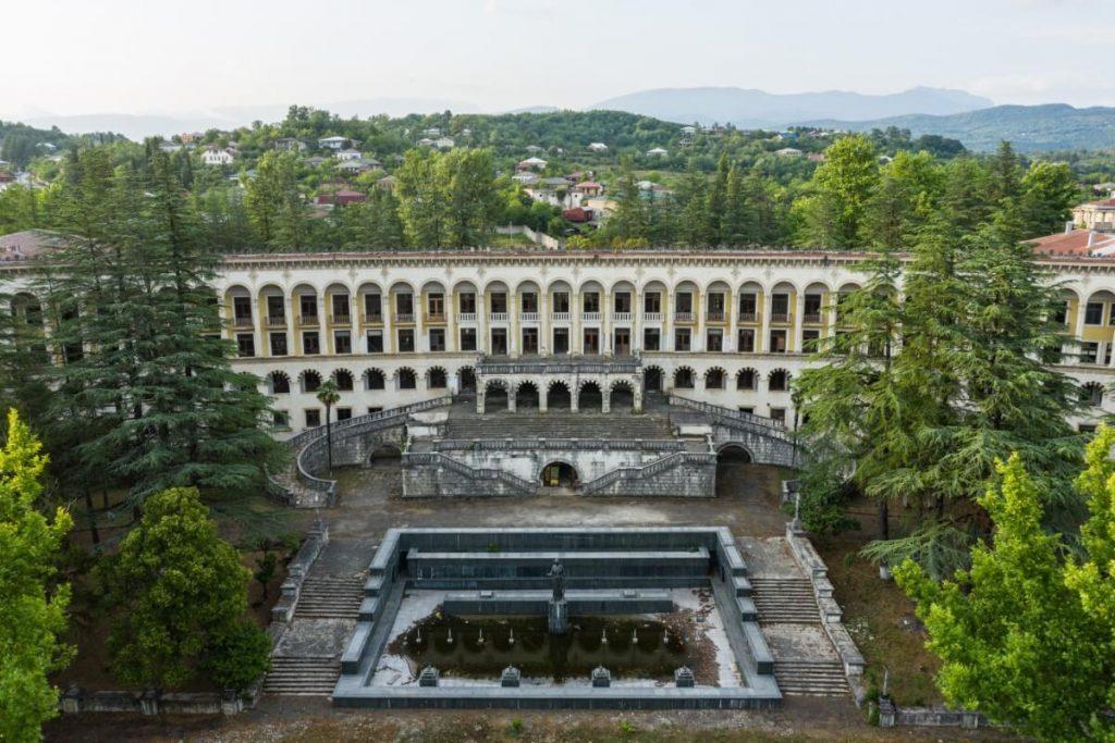 Sowieckie sanatorium Tskaltubo Ckaltubo Gruzja Kutaisi Imeretia