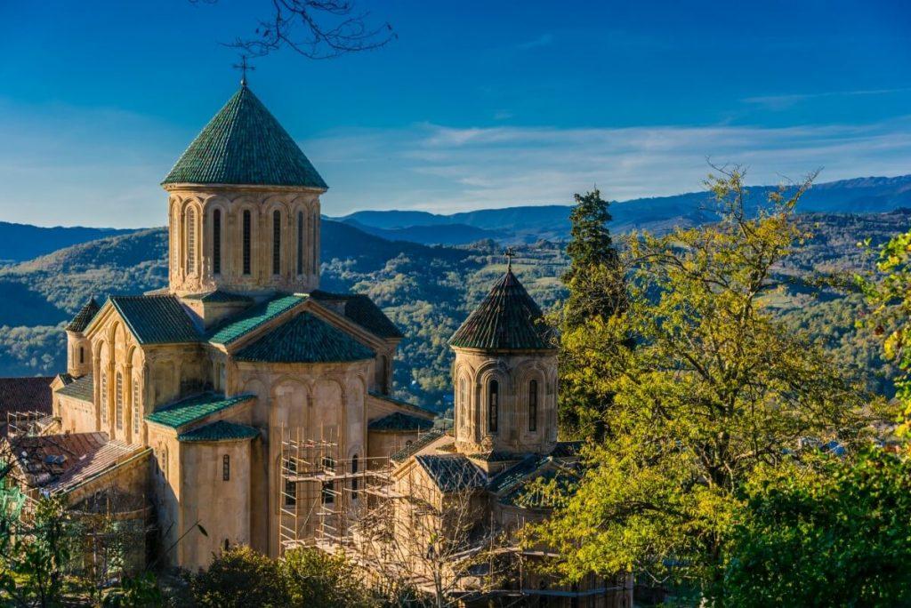 Gelati cerkiew Imeretia Kutaisi Gruzja Kolchida