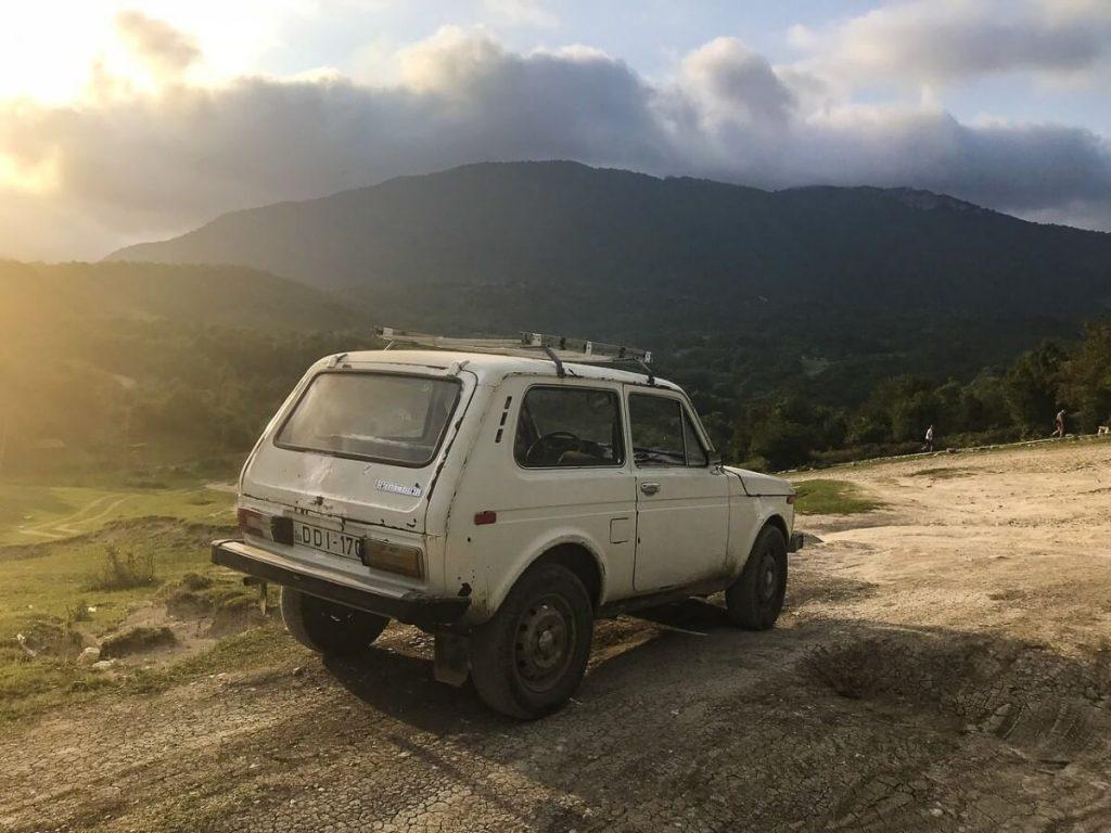 lada niva off-road offroad imeretia kutaisi okatse kanion