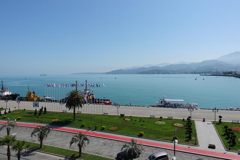 Port Batumi Maly Kaukaz Morze Czarne Gruzja