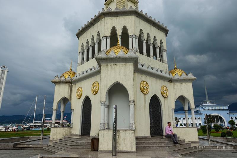 Fontanna Czacza Batumi Maly Kaukaz Morze Czarne Gruzja