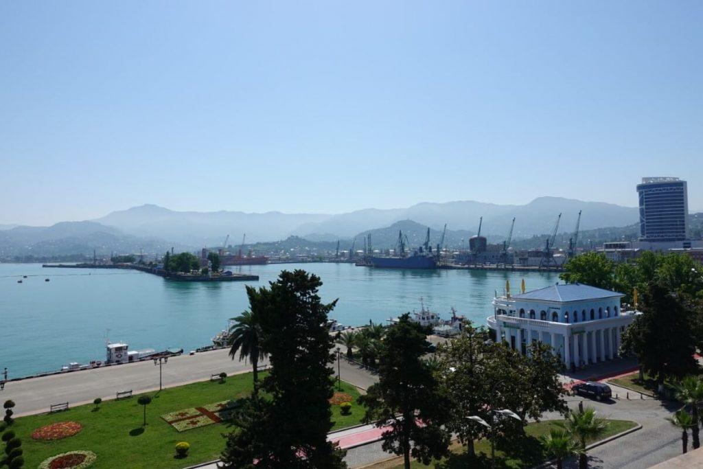 batumi port gruzja kaukaz