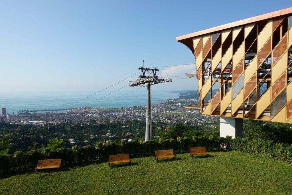 batumi port gruzja kaukaz panorama