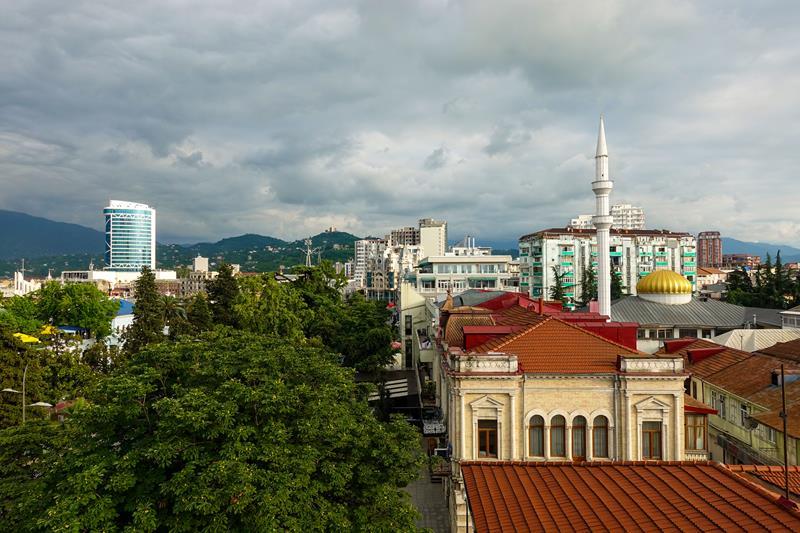 Batumi meczet pogoda klimat Maly Kaukaz Morze Czarne
