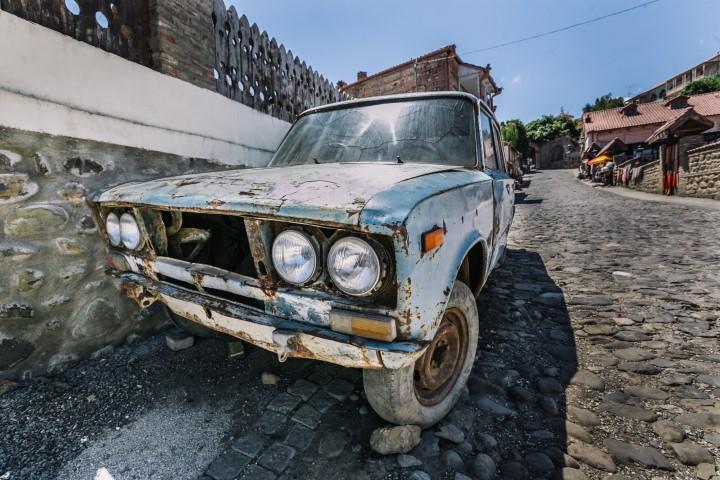 absurdy drogowe w gruzji