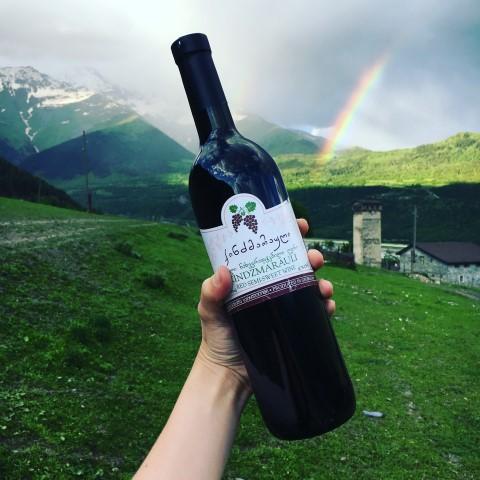 Pan i Pani Spakowani - gruzińskie wino