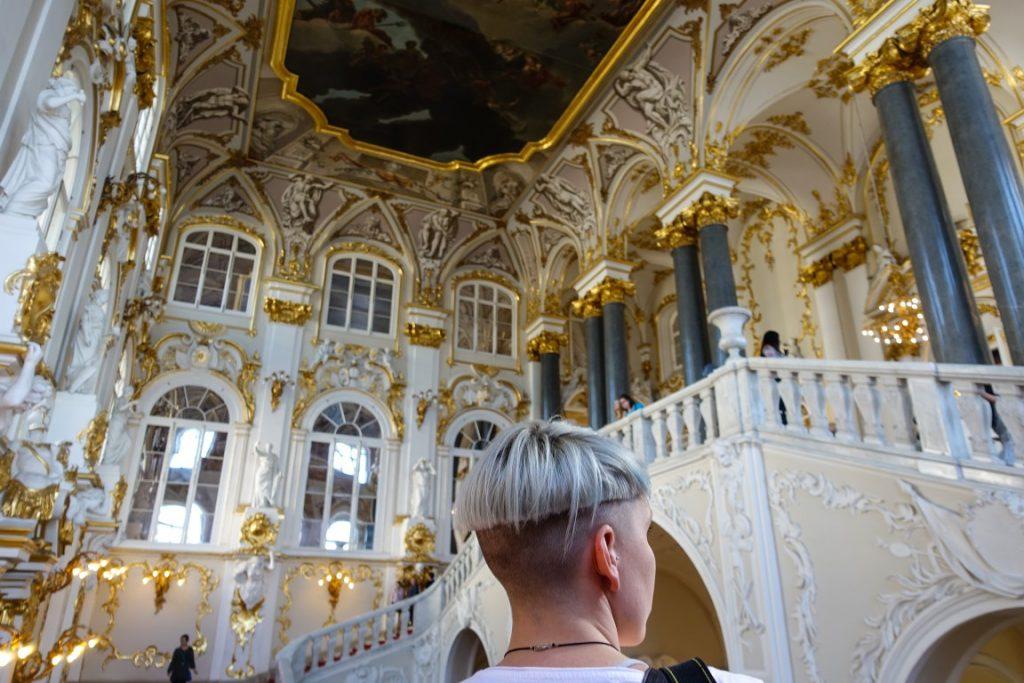 Sobór świętego Izaaka Dalmatyńskiego - wnętrze