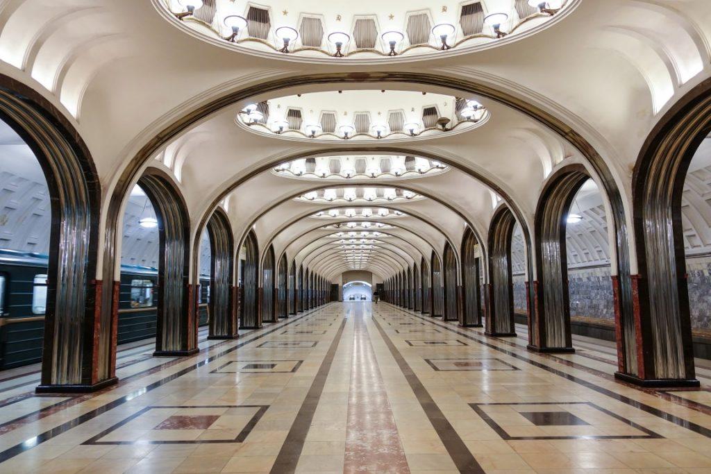 Stacja metra Mayakovskaya