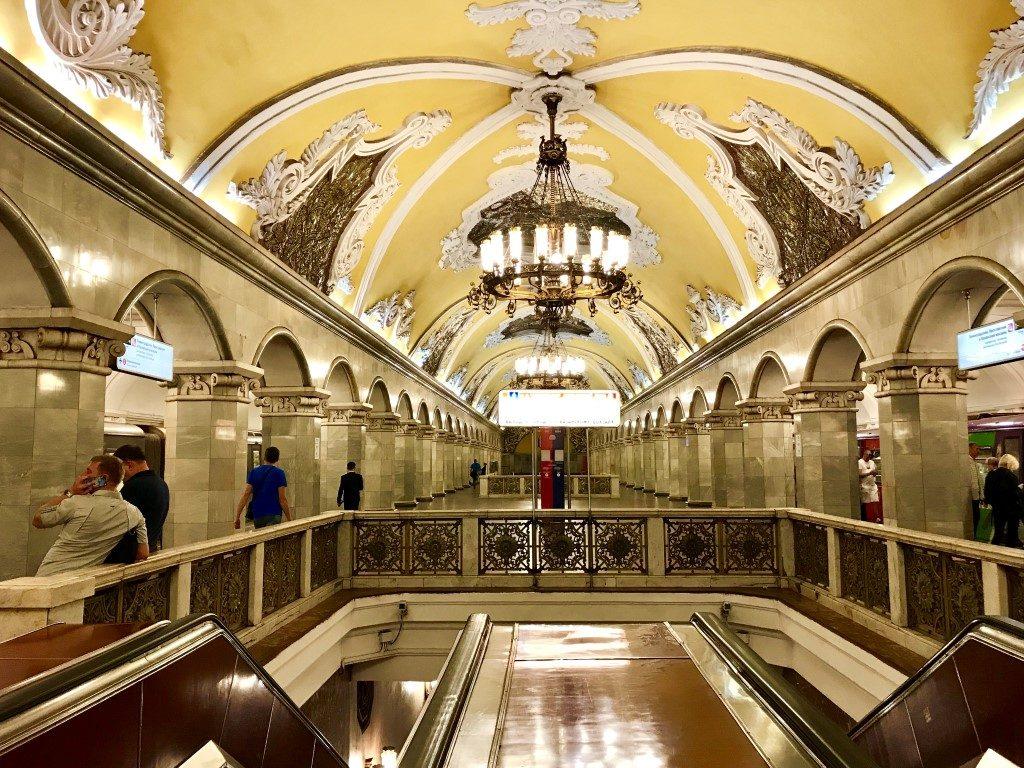 Stacja metra Komsomolskaya