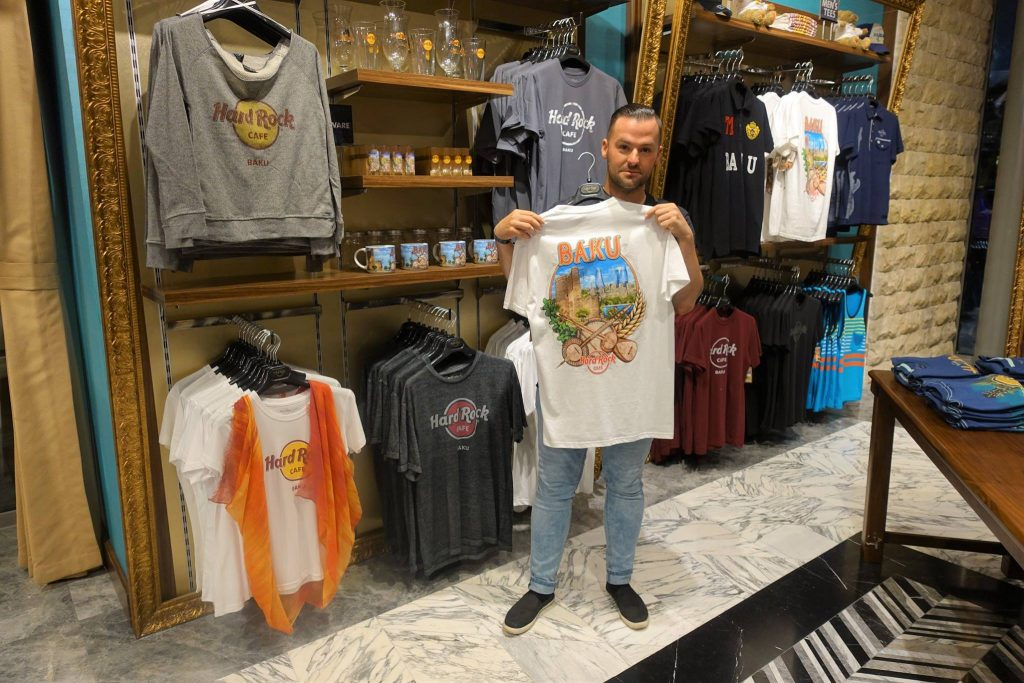 Koszulka z Baku