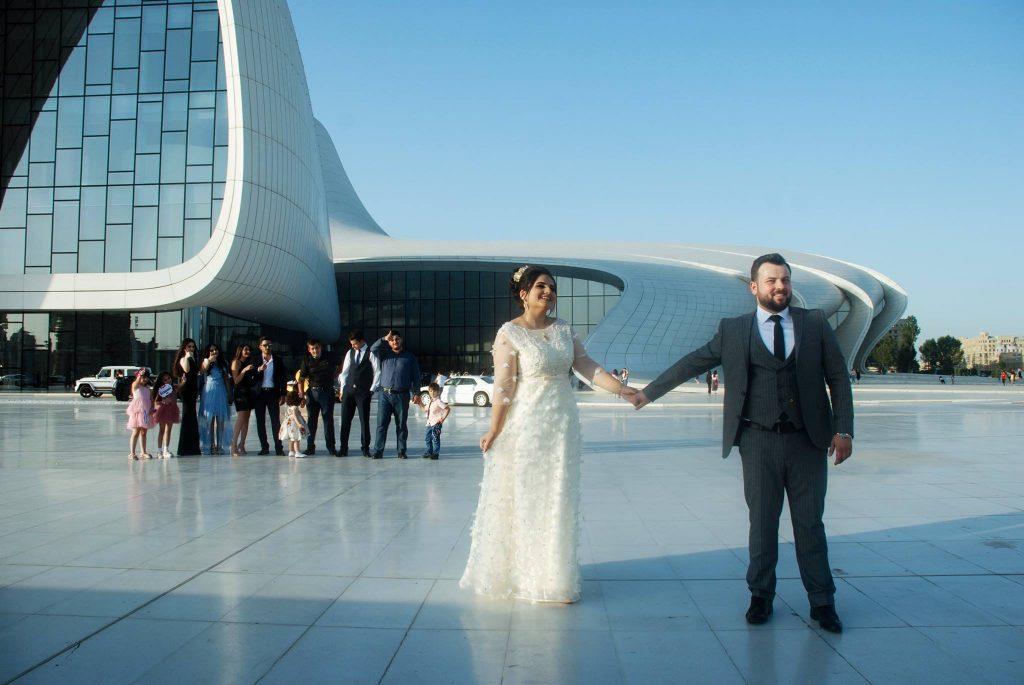 Sesja ślubna w Baku