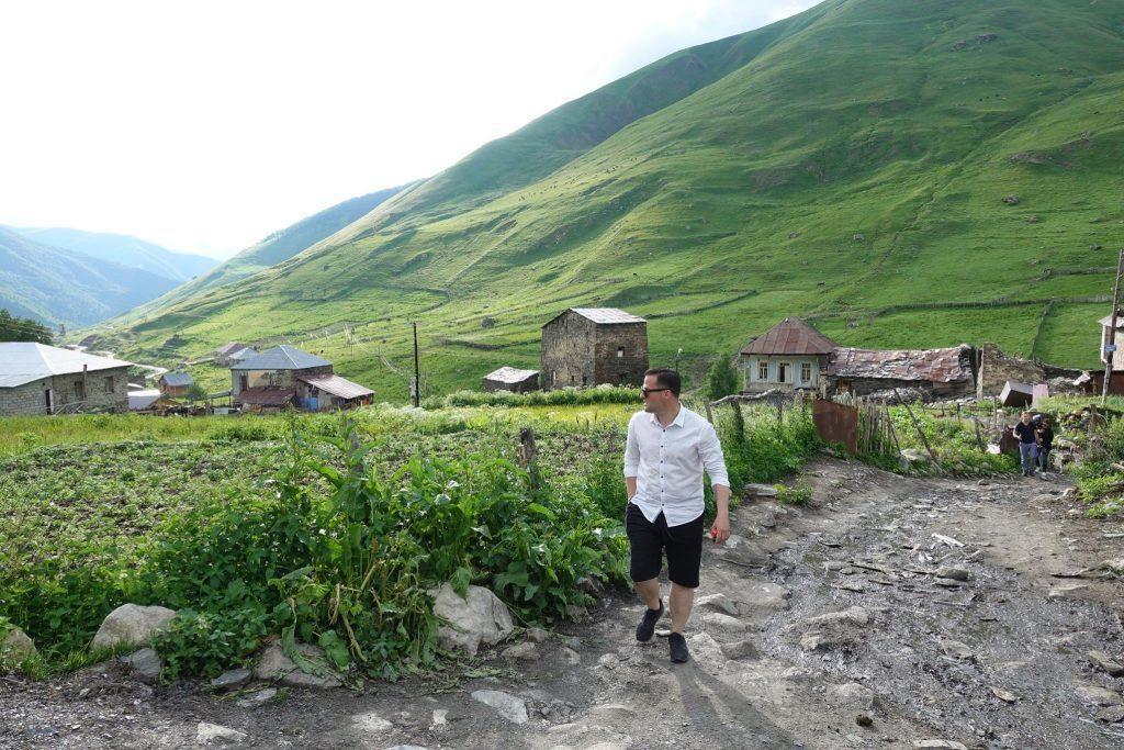 Uszguli Swanetia Gruzja Kaukaz