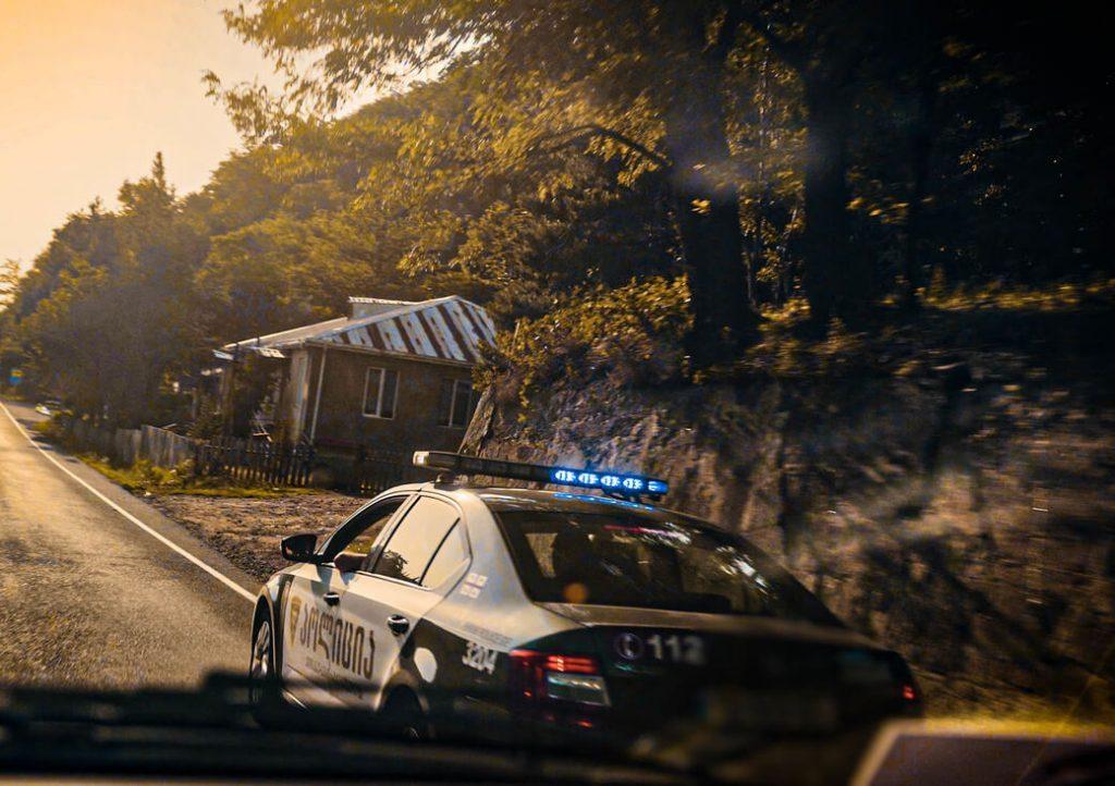 Policja Gruzja Kaukaz