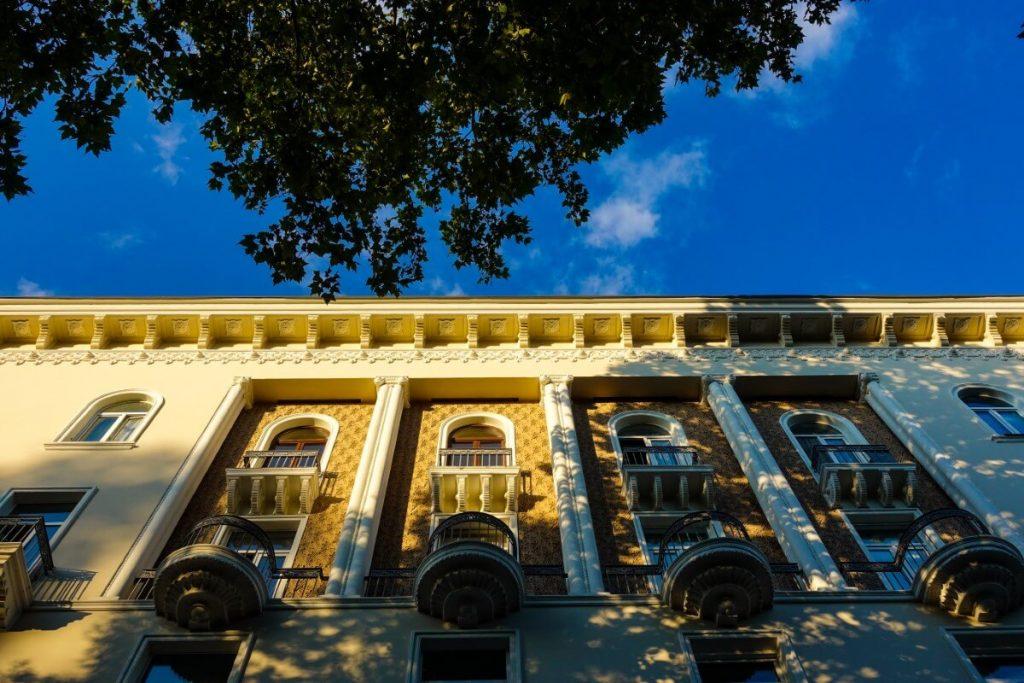 architektura tbilisi ulica mardzaniszwili