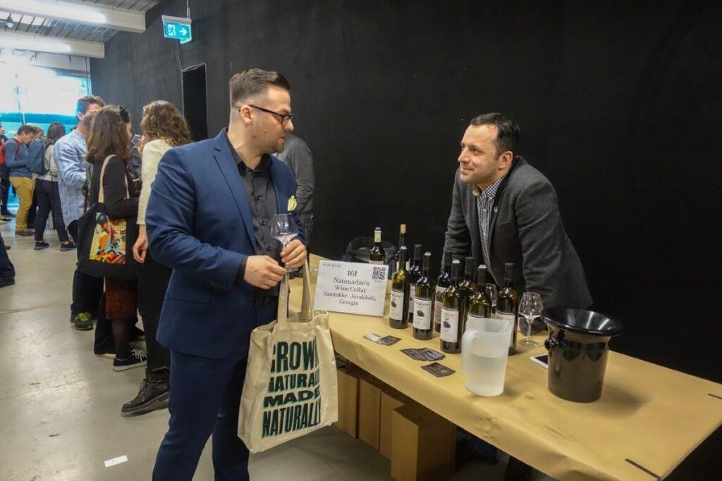brat giorgiego natenadze na raw wine londyn 2019