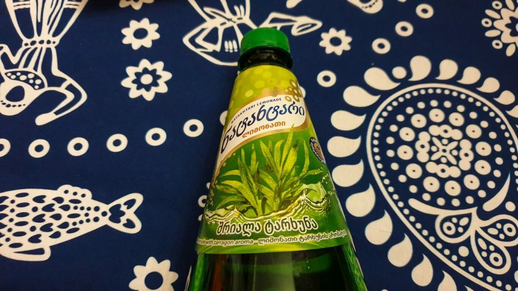 Lemoniada tarhun - estragonowa Gruzja