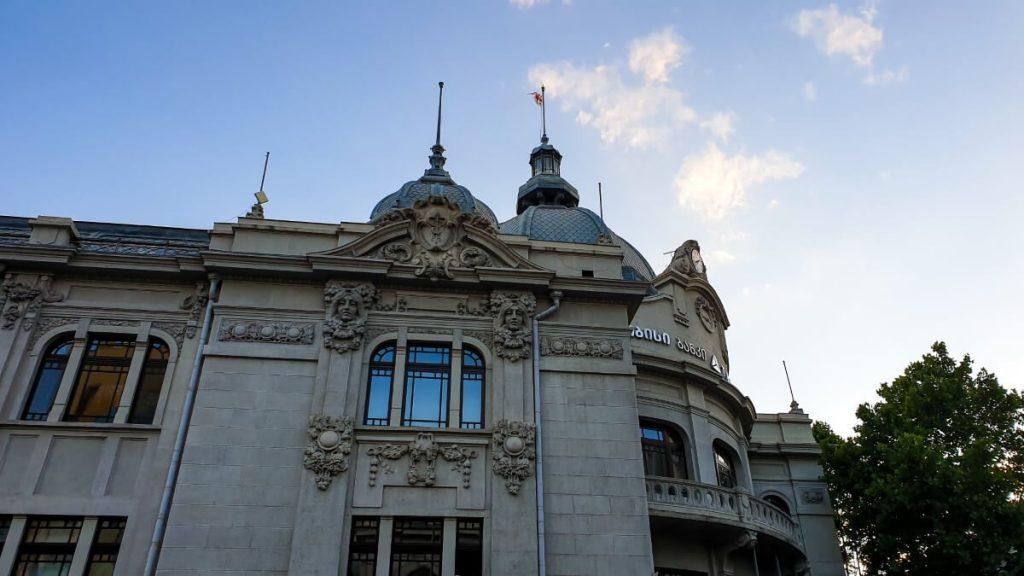 budynek TBC bank polski architekt w gruzji tbilisi