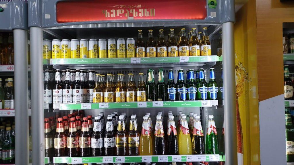 zakupy w gruzji cena piwo gruzinskie tbilisi
