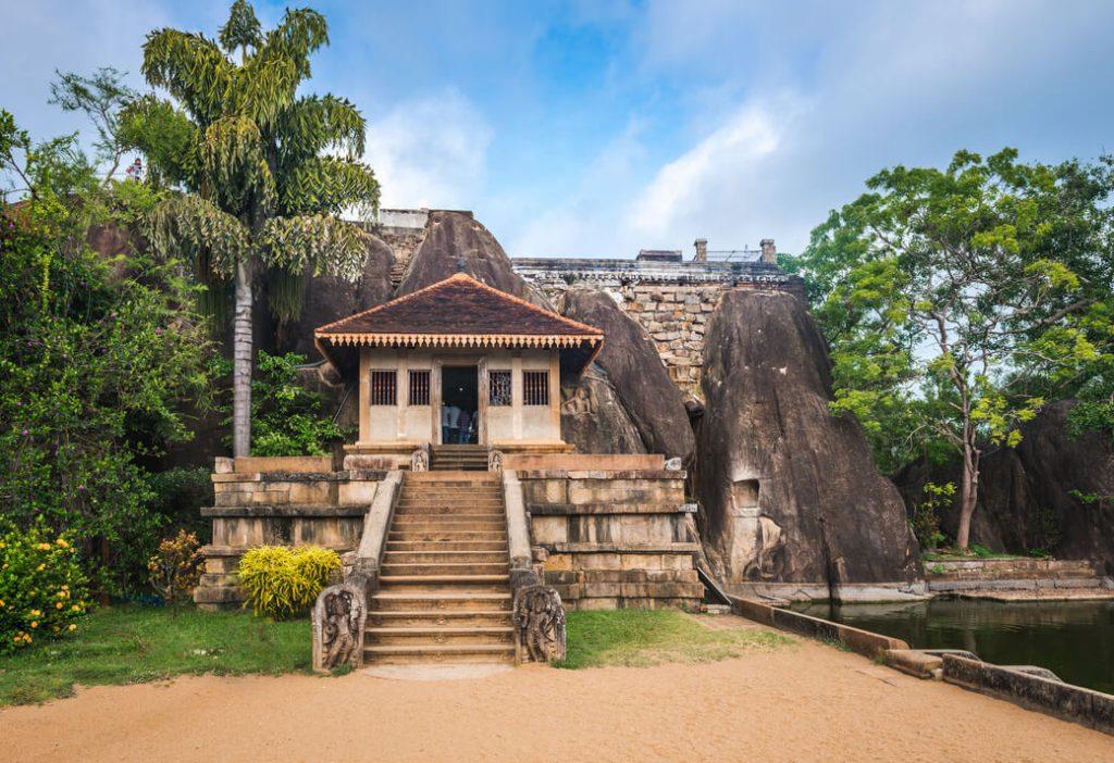 Anuradhapura Isurumuniya Sri Lanka