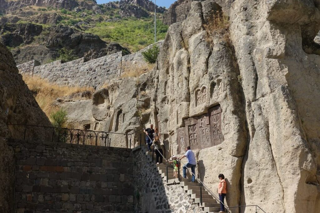 klasztor cerkiew Geghard Armenia