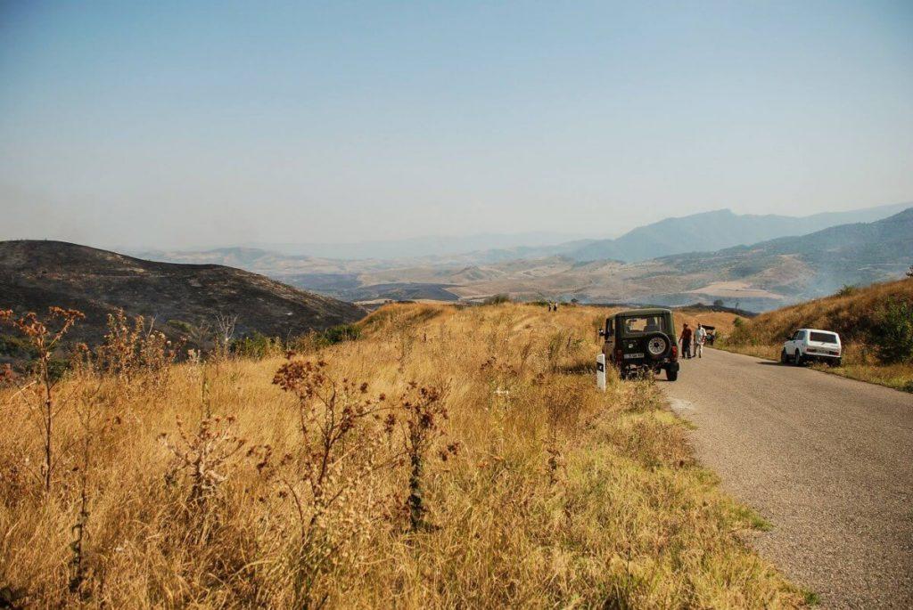 armenia droga krajobraz