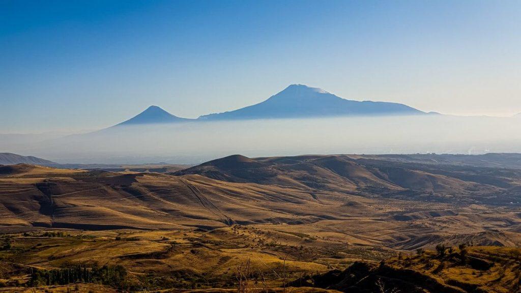 ararat gora armenia krajobraz gory
